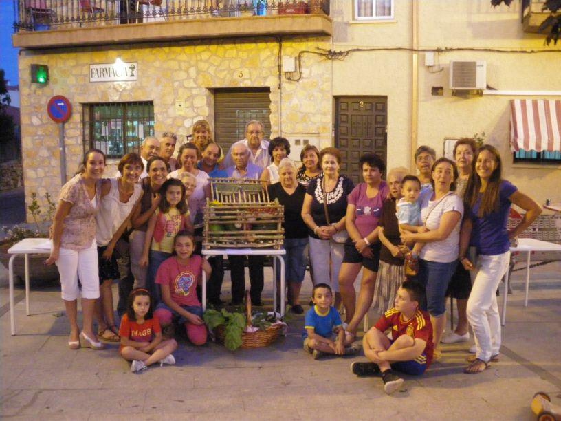 Participantes en concurso de cestas (12)