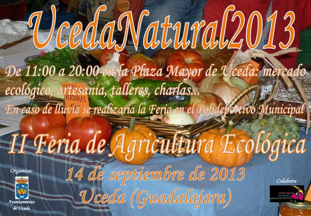 cartel Uceda Natural 2013