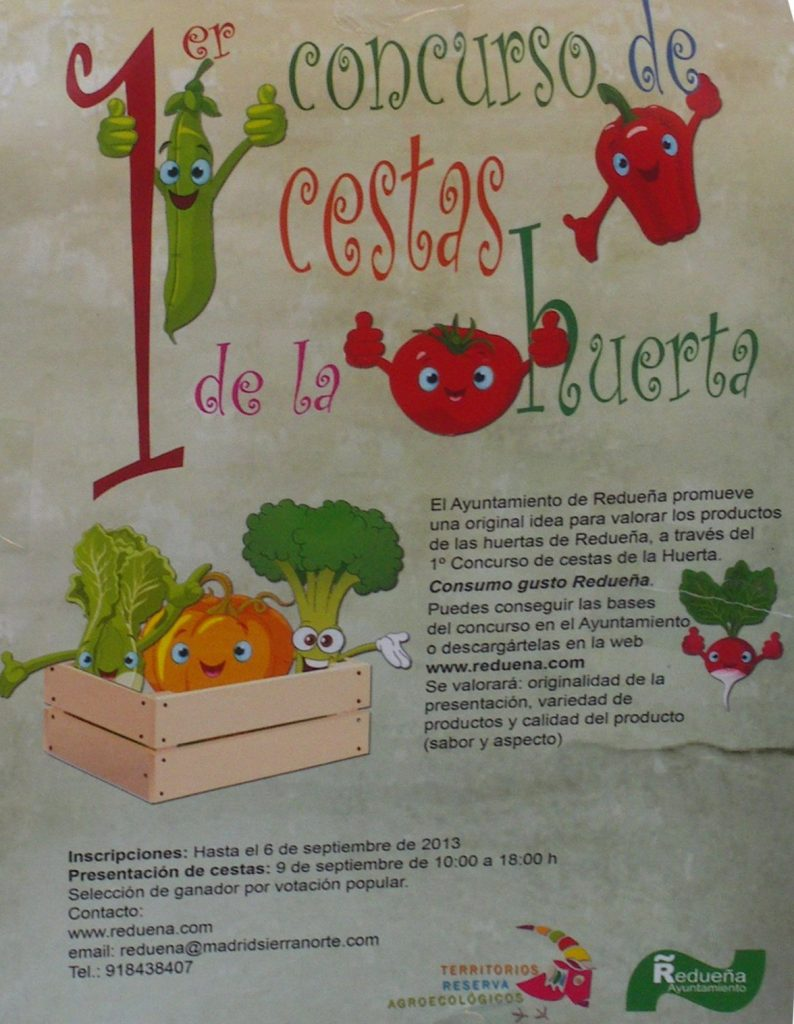 Cartel del concurso de cestas