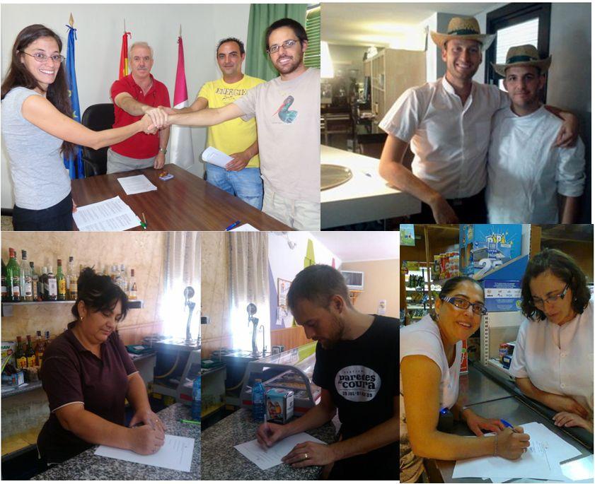 Firma contratos TERRAE