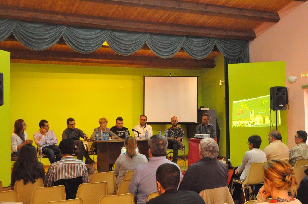 Mesa redonda emprendedores y tecnicos  Burgohondo