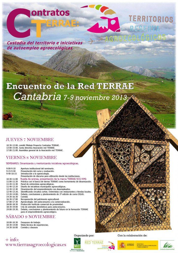 cartel programa encuentro Cantabria vweb
