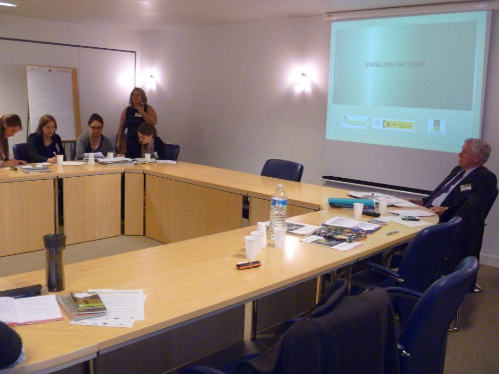 presentacion TERRAE en bruselas