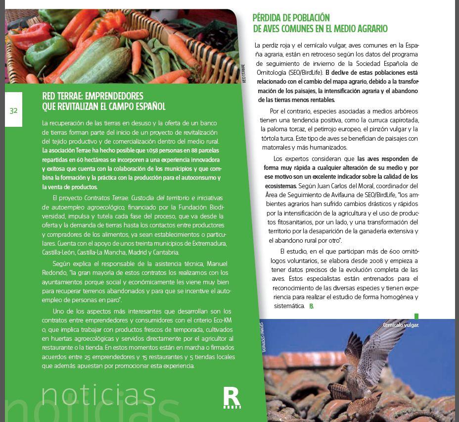 recorte revista Desarrollo Rural 20