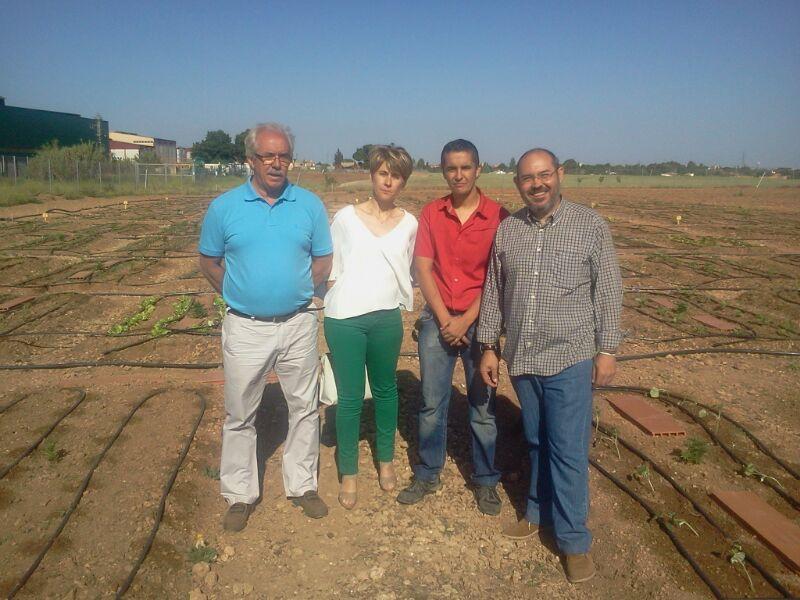 Visita escuela emprendimiento en Migueturra