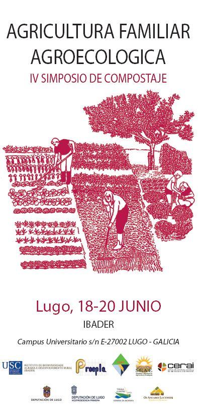 cartel SIMPOSIUM agricultura familiar y agroecologia LUGO