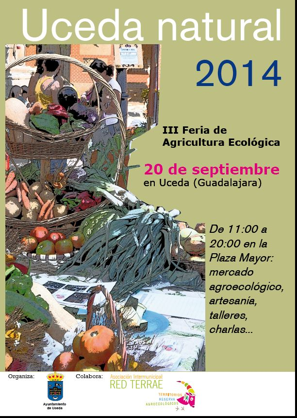 cartel Uceda Natural 2014