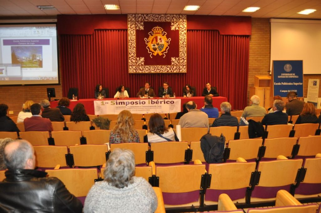 Apertura institucional Simposio de Lugo
