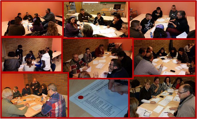 grupos de trabajo Simposio Lugo
