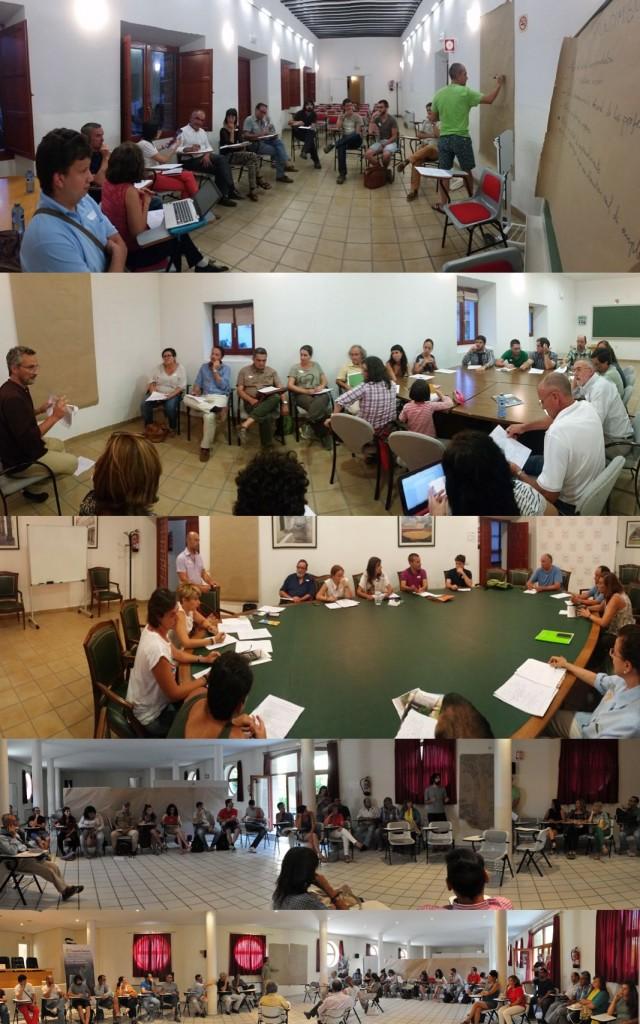 II simposio grupos de trabajo