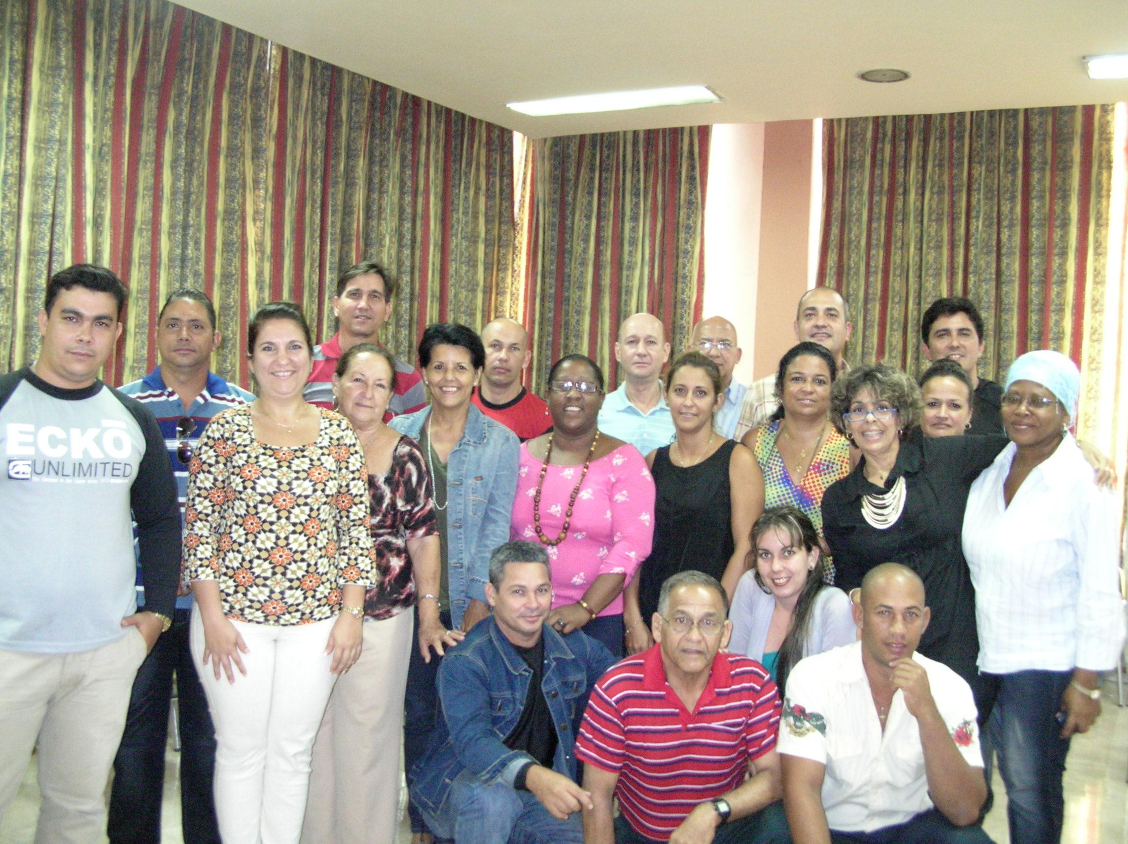 Visita a proyecto BASAL Cuba (1)