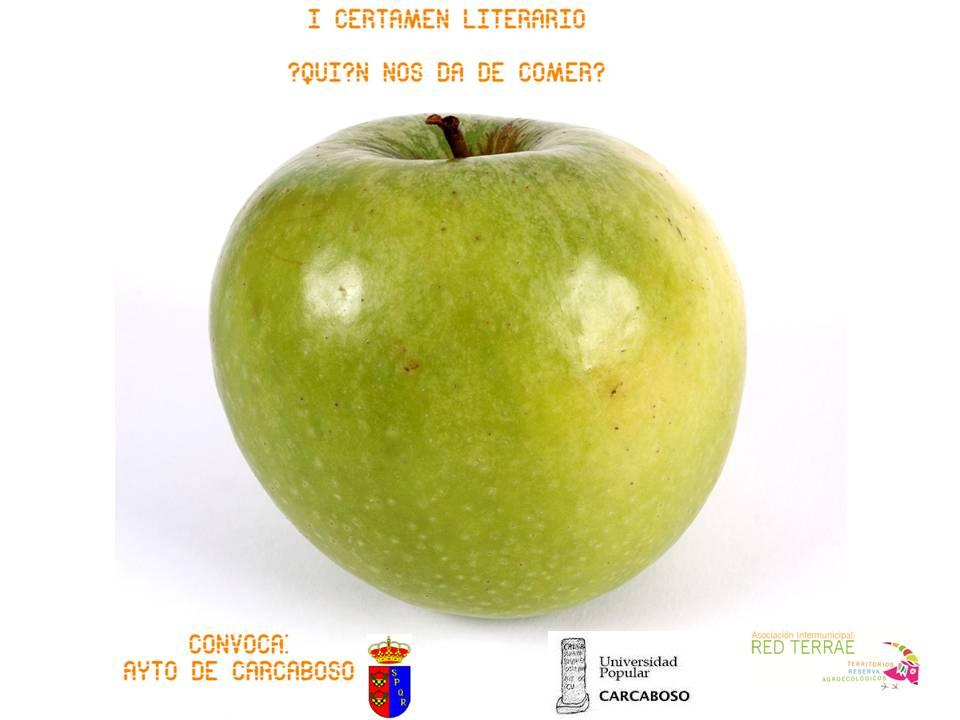 cartel certamen literario CARCABOSO