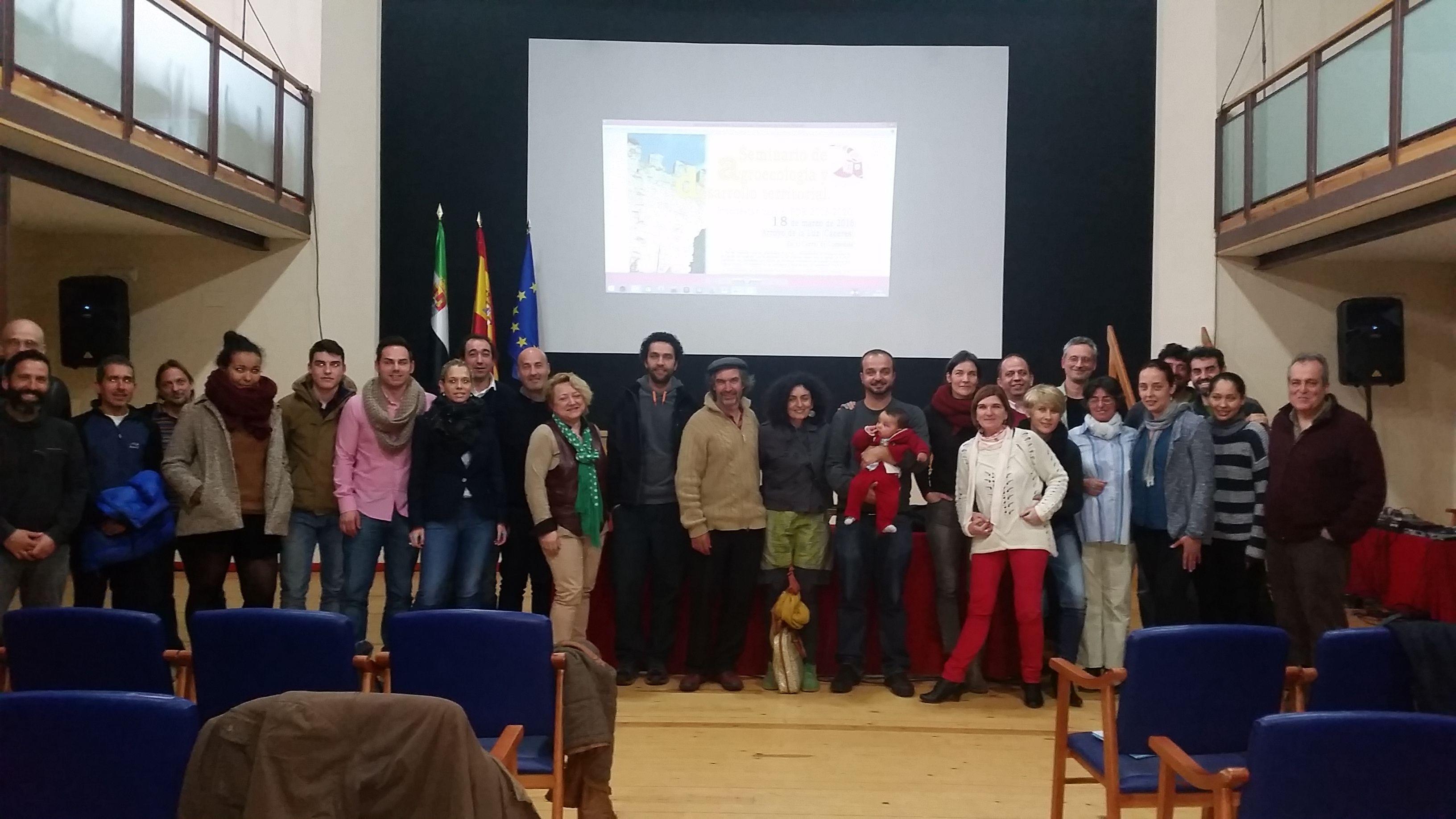 Seminario Arroyo de la Luz grupo final 20160318