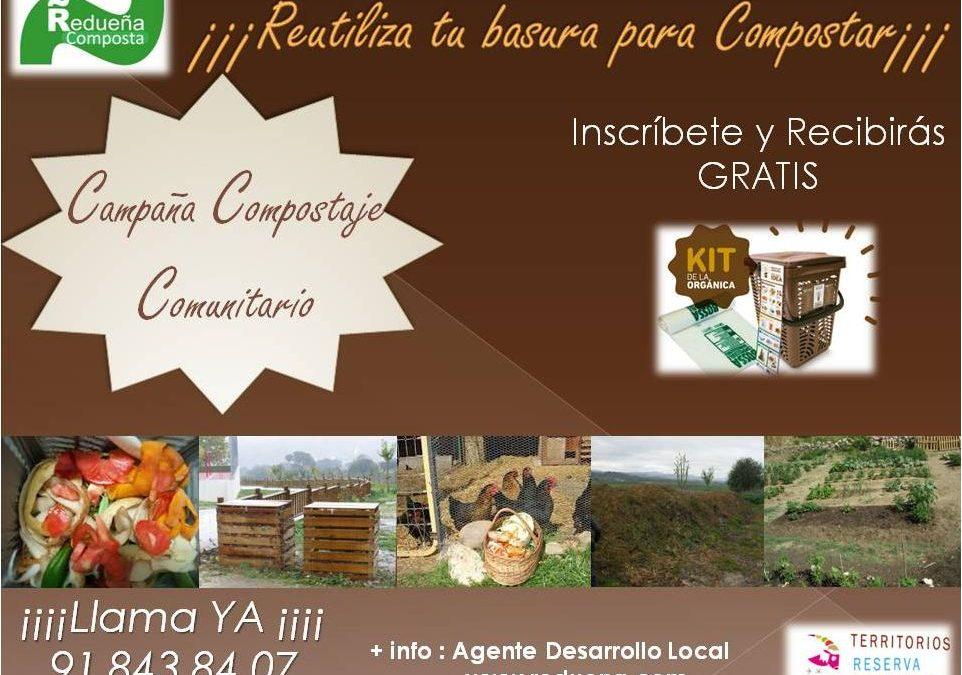 Redueña Composta: el reto de la gestión municipal agroecológica de biorresiduos domésticos