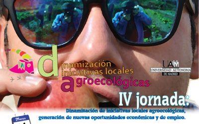 IV Jornadas de dinamización agroecológica en la UAM