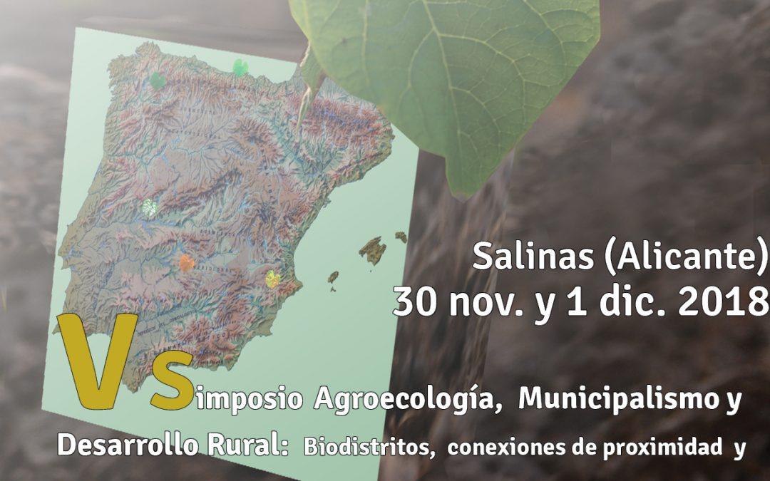 Biodistritos,  proximidad  y adaptaciones agroecológicas al cambio climático.
