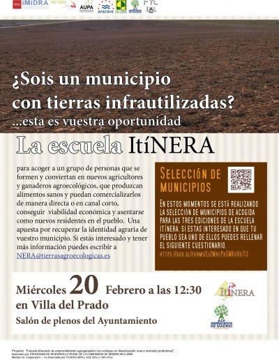 Presentacion ITINERA en ADI Sierra Oeste