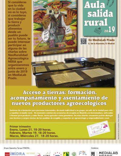 cartel a3 aula salida rural medialab