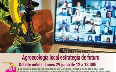 Agroecología local estrategia de futuro. Debate online entre municipios de Canarias